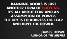 James Howe | 11 Quotes From Authors On Censorship & Banned Books