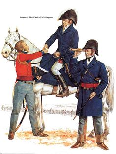Best Uniform - Page 84 - Armchair General and HistoryNet >> The Best Forums in History Napoleon Waterloo, Waterloo 1815, Battle Of Waterloo, British Army Uniform, British Uniforms, Military Art, Military History, First French Empire, Best Uniforms