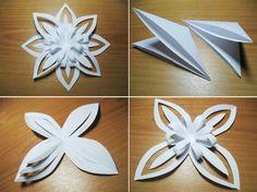 Paper snowflake ...