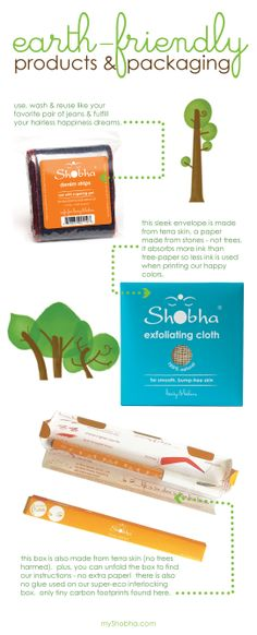earth-friendly products & packaging
