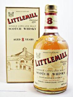 Littlemill Single Malt Scotch Whisky 8 year old 40% 70cl