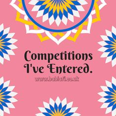Competitions I've Entered