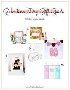 Struggling with what to get your gal pals for Valentine's Day. Click to check out these unique and fun ideas! Gift Guide For Him, Gal Pal, Fun Ideas, Valentine Day Gifts, Special Events, Birthdays, Finding Yourself, Gallery Wall, Unique