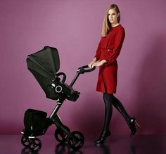 Stokke Xplory TrueBlack Special Limited Edition. I NEED this in my life ASAP! I WILL have it!