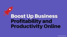 How to Boost Up Business Profitability and Productivity Online?  we have described the important elements that a professional web portal should have. Check out the list given below: Visit now: http://webmobinfo.ch/boost-business-profitability-productivity-online/