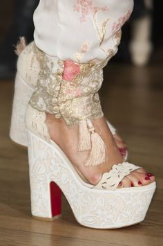 Marchesa at London Spring 2015 (Details)
