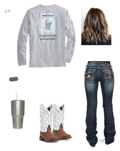 """""""I dunno"""" by kansascountrygirl ❤ liked on Polyvore featuring Miss Me, Kate Spade and Laredo"""