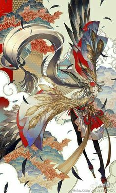 [onmyoji] fan art - chap 6 - Page 3 - Wattpad Art And Illustration, Fantasy Kunst, Fantasy Art, Image Manga, Anime Kunst, Arte Pop, Character Design Inspiration, Creature Design, Chinese Art