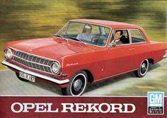 Opel Rekord 4dr