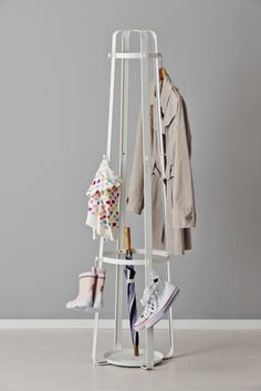 Enudden Hat And Coat Stand, White