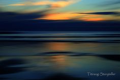 impressionist Sunset, Piha, Auckland, New Zealand