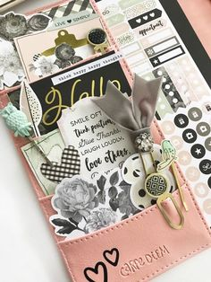Carpe Diem for Scrapbook & Cards Today from marketing director Layle Koncar using the Carpe Diem Beautiful A5 Boxed Set