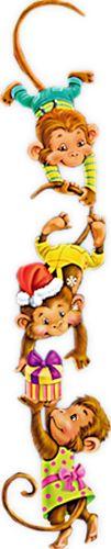 "Photo from album ""Обезьянки"" on Yandex. Monkey Drawing, Monkey Art, Cartoon Monkey, Monkey Business, Diy Toys, Cute Animals, Album, Yandex Disk, Monkeys"