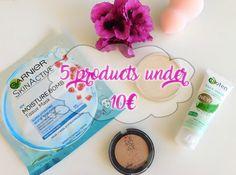 Beauty Project: 5 προιόντα κάτω των 10€ ● 5 products under 10€ ● C...