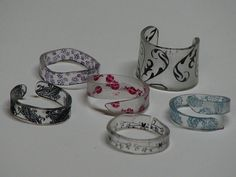 shrinky dink rings anyone?  Seriously?!  People are quite amazing with the things they create...I am so glad I am good at pinning (: