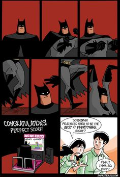 Batman is good at everything