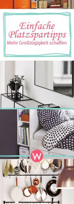 12 Einfache Platzspartipps Für Kleine Räume