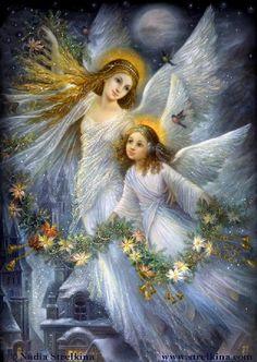 Christmas Angels / Nadezhda Strelkina Gallery