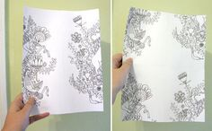How To Make a Hand Drawn Repeated Pattern. » Curbly | DIY Design Community