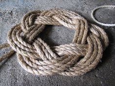 Missed the rope wreath workshops at #Halifax's Maritime Museum of the Atlantic? No worries - pick up supplies at  the Halifax Army Navy Store and try it yourself - via The Right Coast Nova Scotia