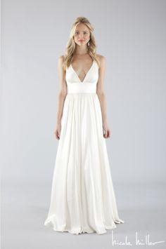 Empire   Get inspired here: http://www.i-do.com.au/wedding-photos/wedding-dresses/?utm_source=pinterest&utm_medium=organic&utm_campaign=general&utm_term=dresses #weddingdress #wedding #bride