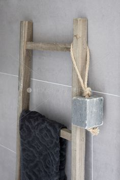 ᵒᴼᵒ▫▫▫ Simple Is Beautiful ▫▫▫ᵒᴼᵒ Bathroom Spa, Bathroom Toilets, Laundry In Bathroom, Bathroom Styling, Bathroom Interior Design, Bathroom Accessories, Home Accessories, Old Ladder, Soap On A Rope