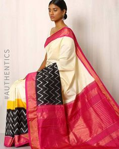 These 10 Types Of Sarees From All Over India Will Find A Place In Every Saree Lover's Wardrobe Pochampally Sarees, Ikkat Saree, Lehenga Choli, Handloom Saree, Best Blouse Designs, Saree Blouse Designs, Soft Silk Sarees, Cotton Saree, Designer Blouse Patterns