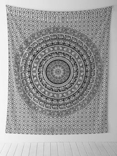 Black and White Tapestries Elephant Mandala Hippie Tapestry Indian Traditional Throw Beach Throw Wall Art College Dorm Bohemian Wall Hanging Boho Twin Bedspread Black &White Hippie Bedding, Bohemian Bedspread, Psychedelic Tapestry, Mandala Tapestry, Boho Tapestry, Mandala Art, Elephant Tapestry, Indian Tapestry, Houses