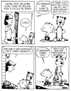 Calvin e Haroldo - Tirinha nº29