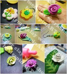 πολυμερικός πηλός για αρχάριους Good Tutorials, Clay Tutorials, Arts And Crafts Supplies, Polymer Clay, Candles, Blog, Roses, Copper, Fimo