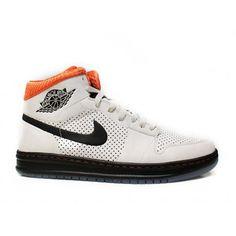 Air Jordan 1 (I) Alpha Tinker Hatfield Edition Birch Black Orange Blaze 392813-201 $ 57.00