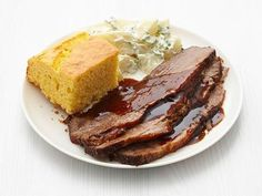 Get Slow-Cooker Barbecue Brisket Recipe from Food Network