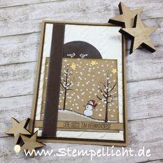 Stempellicht: Weihnachtskarte für Match the Sketch