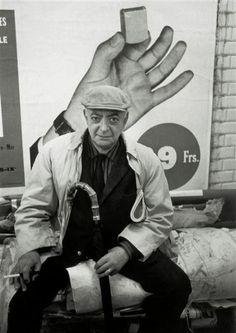 Mon ami Brassaï, 1963 (André Kertész)