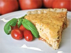Tomato Pie – Palmetto Cheese – The Pimento Cheese with Soul Tomato Side Dishes, Vegetable Dishes, Vegetable Recipes, Palmetto Cheese, Southern Tomato Pie, Veggie Casserole, Good Food, Yummy Food, Southern Recipes
