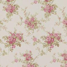 Wallpaper - Ann Salmon - Large Floral NO BORDER