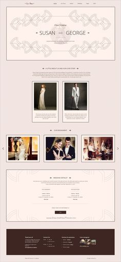 La Ame is the perfect choice for a couple looking for an elegant and clean PSD #template for perfect #wedding planning websites. Template includes all necessary blocks and pages for perfect #celebration wedding: Invitations, RSVP, Gift Registry, Accommodation, Menu, Guestbook, Bridesmaids & Groomsmen's pages etc, with an elegant and unique design download now➩ https://themeforest.net/item/la-ame-elegant-wedding-psd-template/19037725?ref=Datasata