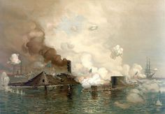 Confederate States Ironclads   States ironclad Monitor in the world's first clash between ironclads ...