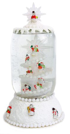 Spiral Snowman Globe....I really like that, and sounds super easy to make
