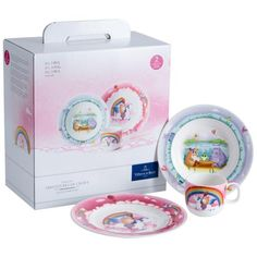 The Lily in Magicland crockery and cutlery collection from Villeroy & Boch is perfect for children. Villeroy, Dinnerware, Lily, Children, Gifts, Medium, House, Products, Kitchen Dining Rooms