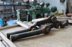 Outils pour la fabrication du cuivre martele. Cannon, Guns, Tools, Copper, Objects, Weapons Guns, Instruments, Revolvers, Weapons