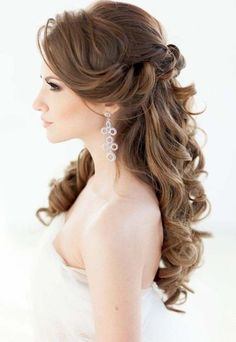 03 Bridal Wedding Hairstyles For Long Hair that will Inspire