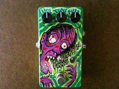 Purple Zombie guitar fuzz pedal