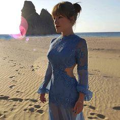 vestido de madrinha praia