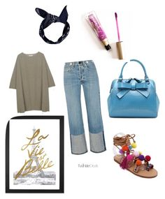 """dope NOLA Gyrl"" by sonthia on Polyvore featuring BLACK CRANE, rag & bone, Boohoo, Too Faced Cosmetics and iCanvas"