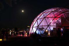 Dome of Visions by Kristoffer Tejlgaard & Benny Jepsen // Copenhagen, Denmark | Yellowtrace
