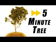 How to Make Model Pine Trees that Look Great and Realistic--RTNT009 - YouTube