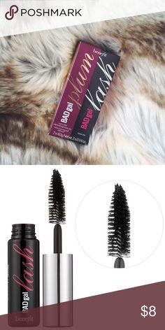NEW IN BOX Benefit Bad Gal Lash Mini Duo NEW IN BOX Benefit Bad Gal Lash Mini Duo. Includes two Bag Gal Lash Mascara minis in Black & Plum. Benefit Makeup Mascara