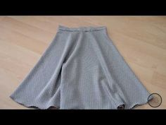 Practical Skirt Sewing Without Using Mold / Easy Skirt Only With Waist Size / How to Practice Skirt?
