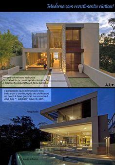 Arquitetura.idEA: PROJETO DE ARQUITETURA - TERRENO EM DECLIVE